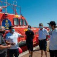 CGT explica una vez más al Gobierno español la urgente necesidad de reforzar y proteger el servicio de Salvamento Marítimo