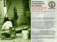 Caravana Nacional por una vida digna para los pueblos indígenas
