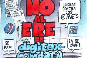Despido colectivo de Digitex Informática ¡Que no te engañen!