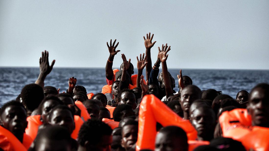 CGT muestra su repulsa a las políticas migratorias europeas y exige la creación de vías seguras para personas migrantes y refugiadas