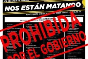"""Comunicado de colectivos y organizaciones de los barrios y pueblos de Madrid ante la prohibición de la manifestación del sábado 30 de enero con el lema """"Nos están matando"""""""