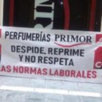 Perfumerías PRIMOR llamada a juicio, de oficio, por la Consejería de Empleo de la Junta de Andalucía tras la intervención de la Inspección de Trabajo ante las reiteradas denuncias de CGT