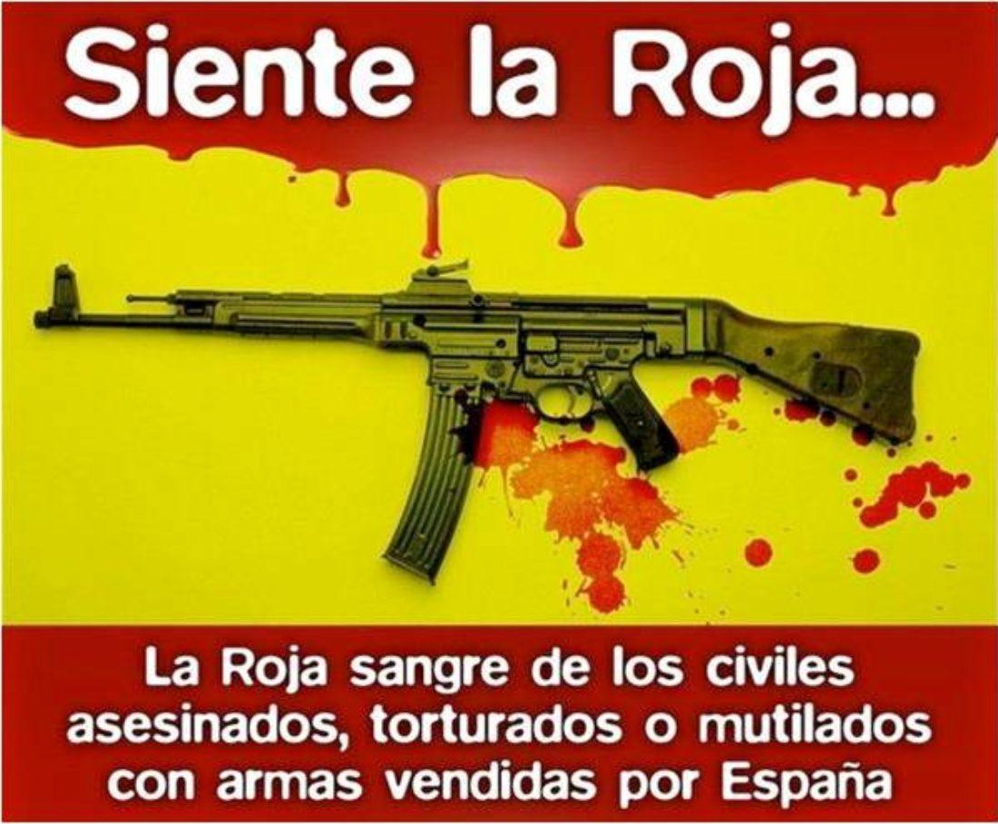 CGT denuncia la venta de armas entre Estados Represores