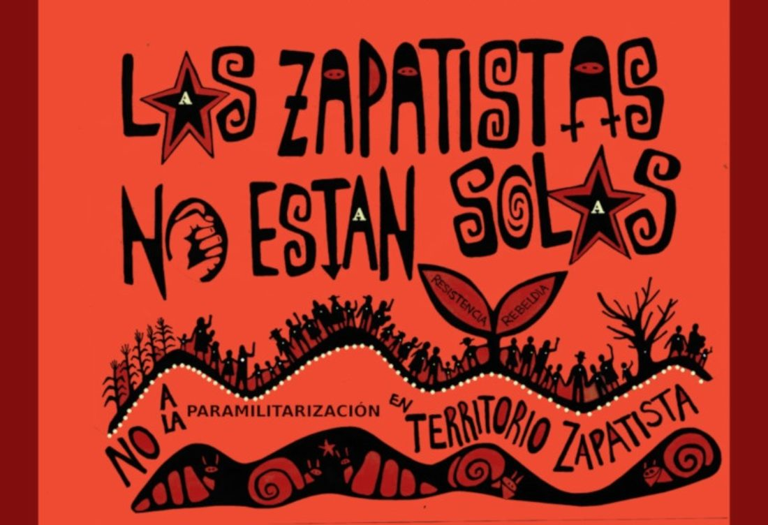 CGT denuncia la invasión de los trabajaderos de las Bases de Apoyo al EZLN en Nuevo San Gregorio