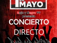 Concierto en directo 1º de Mayo
