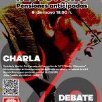 Charla/Debate: Coeficientes reductores. Pensiones anticipadas