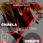 Charla/Debate: Coeficientes reductores. Pensiones anticipadas