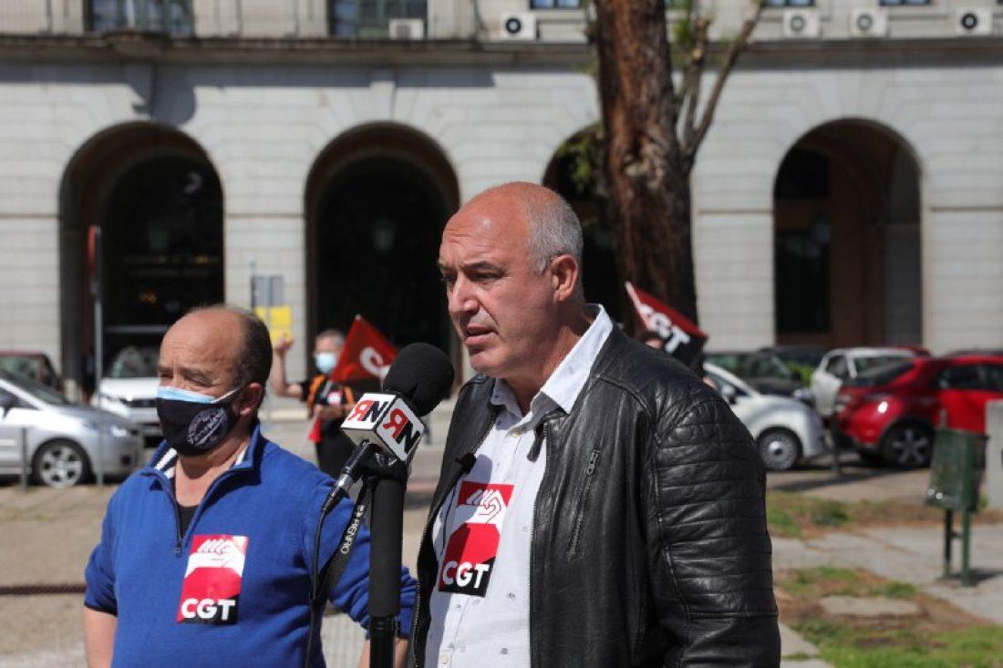CGT advierte al Ministerio de Trabajo del Gobierno de PSOE-Unidas Podemos que plantarán cara a cualquier intento de desalojo de su sede de la calle Alenza en Madrid