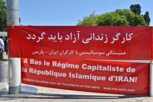 IRAN: los mineros de Asseminoun se manifiestan por las calles de la ciudad de Manoojan