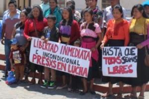 Libertad inmediata para los presos en lucha de Eloxochitlán de Flores Magón y a Fidencio Aldama en México