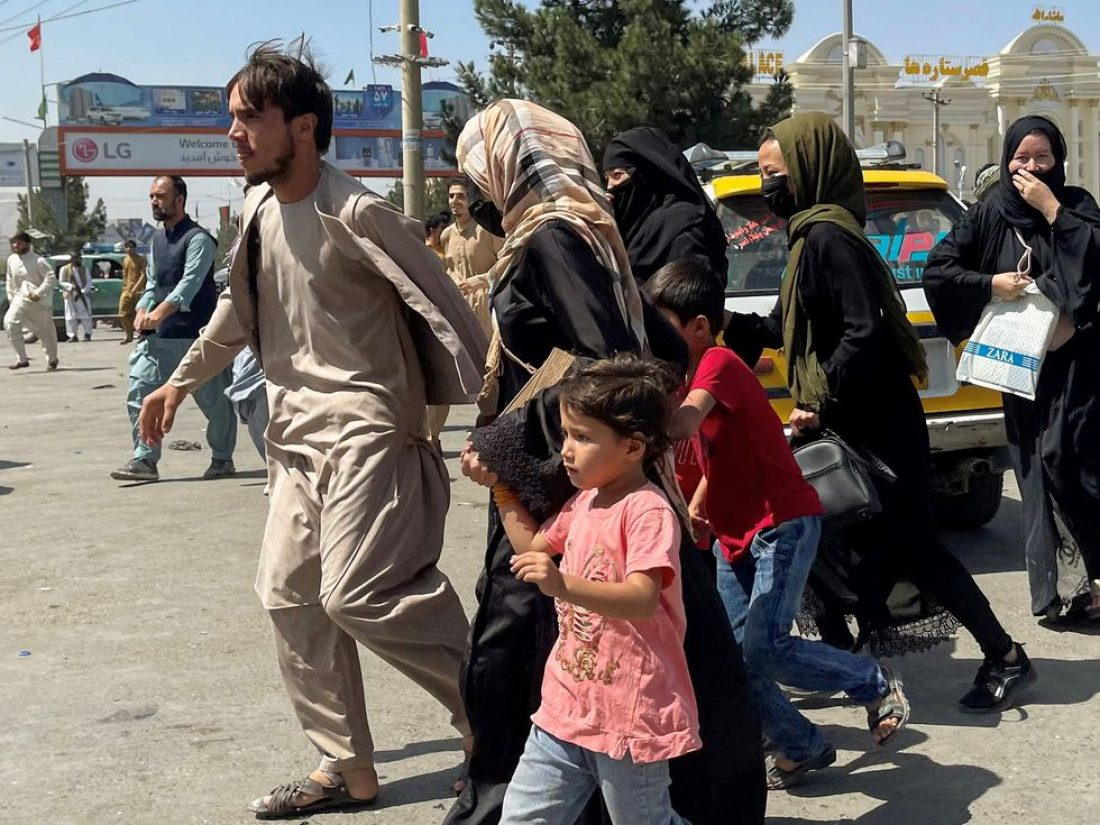 Frente al fascismo y la barbarie, solidaridad internacional con Afganistán y su población civil